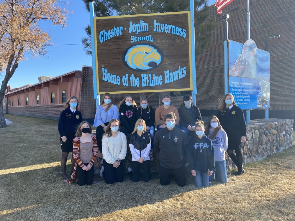 FFA NEWS - JDAE Results and a Visit from State Officers