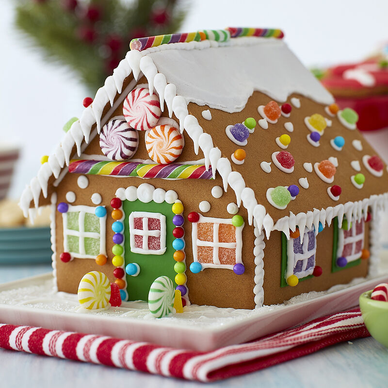 Virtual Gingerbread House Decorating Contest
